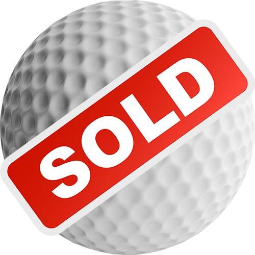 Dunedin Rotary North Golf Tournament White Sponsorship - Sold